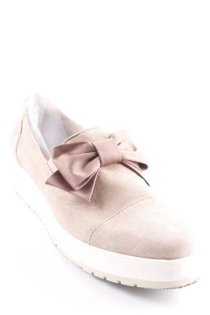 Schlüpfschuhe graubraun Street-Fashion-Look