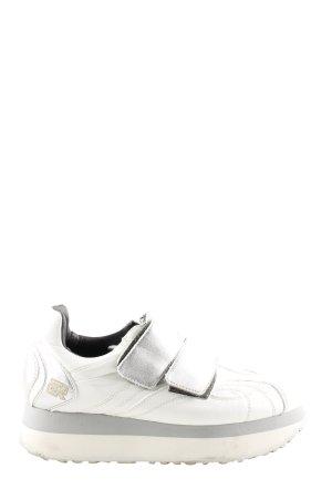 Schlüpfsneaker weiß extravaganter Stil