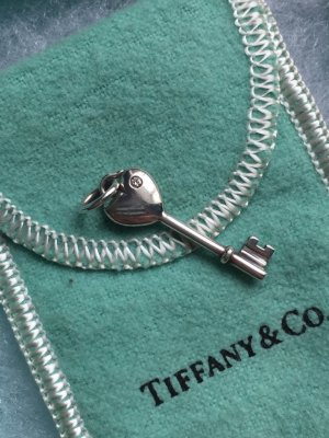 Schlüssel-Anhänger mit Diamant von Tiffany