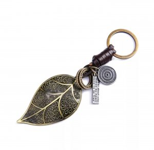 Porte-clés bronze-brun