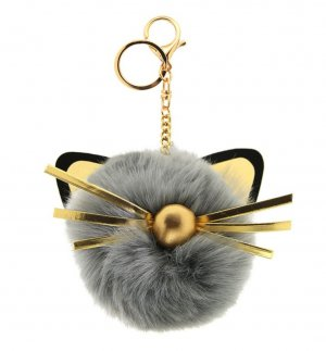 Sweet Deluxe Key Chain gold-colored-grey