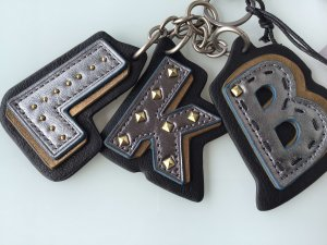 Liebeskind Berlin Key Chain multicolored leather