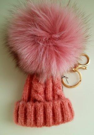 Porte-clés rosé