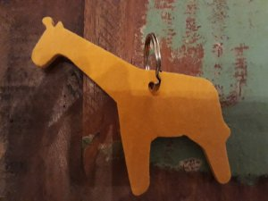Key Chain ocher