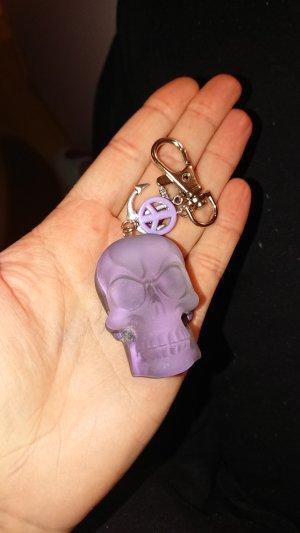 Porte-clés noir-violet