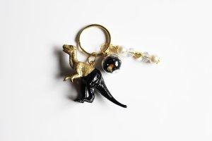 Key Chain gold-colored-black