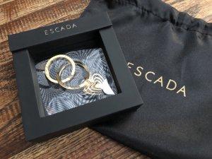 Escada Key Chain gold-colored