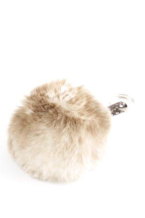 Portachiavi marrone-grigio-beige chiaro Colore sfumato stile casual