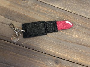 Iphoria Key Chain black-red