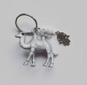 Porte-clés gris clair-gris