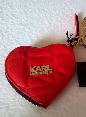 Karl Lagerfeld Key Chain multicolored leather