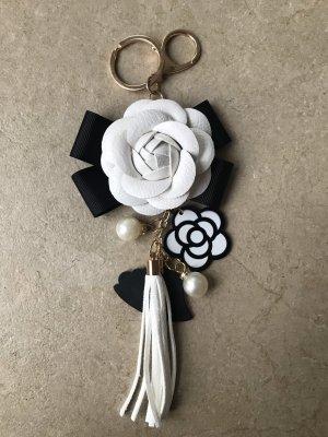 Portachiavi bianco-nero