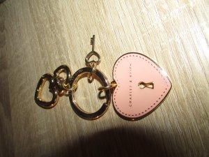 Charles & Keith Porte-clés rosé