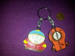 Schlüsselanhänger South Park Cartman Kenny NEU