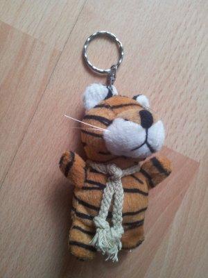 Schlüsselanhänger Stofftier Plüschtier Kuscheltier Tiger
