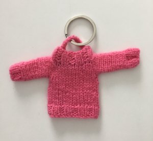 FTC Cashmere Key Chain pink