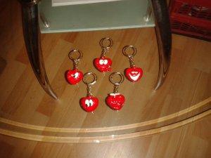 Schlüsselanhänger süße Herzen