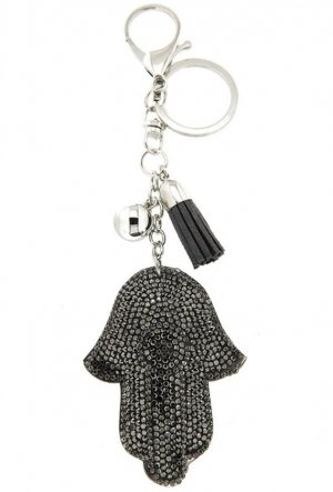 Sweet Deluxe Key Chain silver-colored