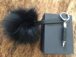 Key Chain black fur