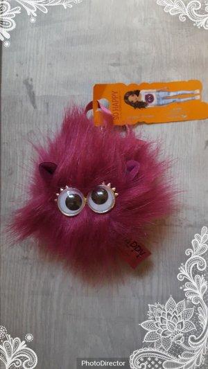 Schlüsselanhänger / Taschenanhänger SO HAPPY by TOP MODEL Puschel, rosa