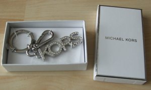 Michael Kors Key Chain silver-colored metal