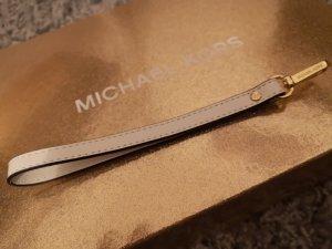 Michael Kors Portachiavi bianco-oro