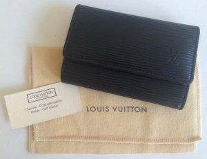 Schlüsseletui von Louis Vuitton - Epi Leder schwarz