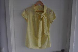Orsay Blusa con lazo amarillo pálido Poliéster