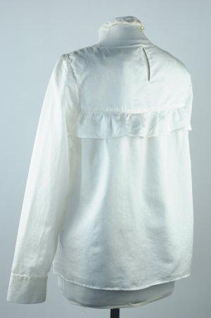 Camicetta da notte bianco Tessuto misto