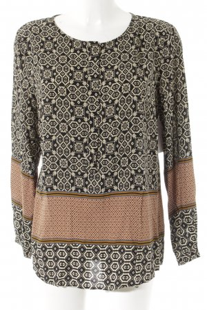 Schlupf-Bluse Ethnomuster Casual-Look
