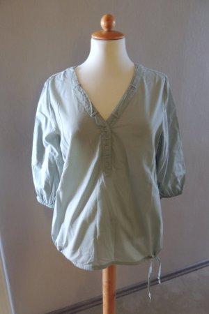 Schlupf-Bluse mitV-ausschnitt