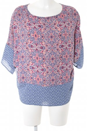 Schlupf-Bluse Paisleymuster Casual-Look