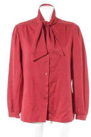 Schlupf-Bluse rot Karomuster klassischer Stil