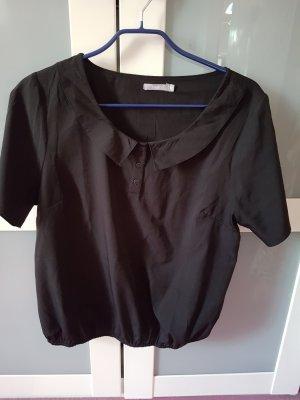 3 Suisses Slip-over Blouse black polyester