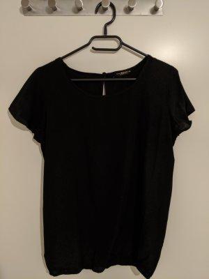 Blusa caída negro
