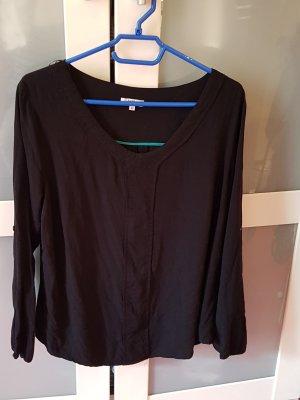 Anne L. Slip-over blouse zwart Viscose