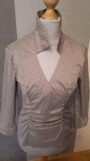 Blusa caída gris claro