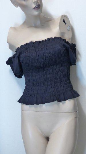 Carmen Blouse black polyamide