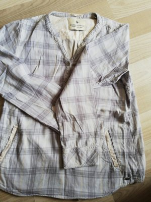 Maison Scotch Slip-over Blouse grey-pale yellow