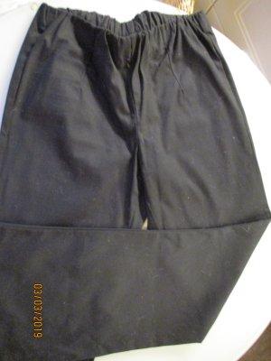 bpc Pantalón de campana negro tejido mezclado