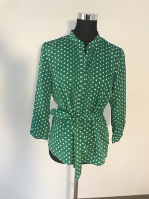 Gerry Weber Tie-neck Blouse green polyester