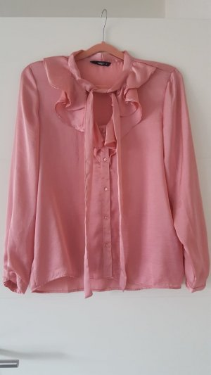 Only Blouse avec noeuds rose polyester