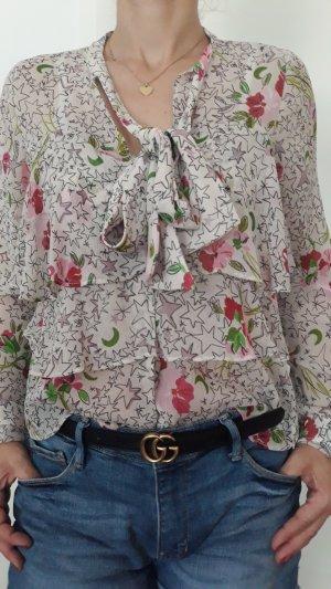 Schluppenbluse Zara mit Sternchen Gr.S