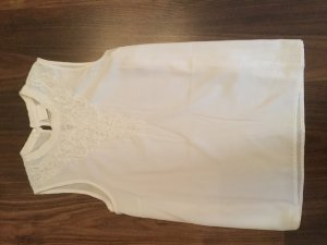 Vila Sleeveless Blouse natural white polyester