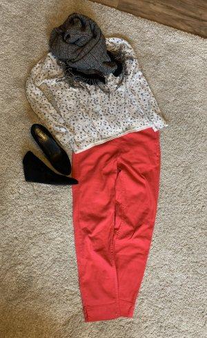H&M Pantalone a 7/8 rosso