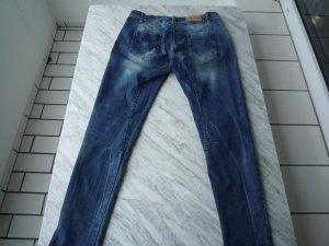 Schmale Boyfriend Jeans von RISSKIO, Gr. M, hell