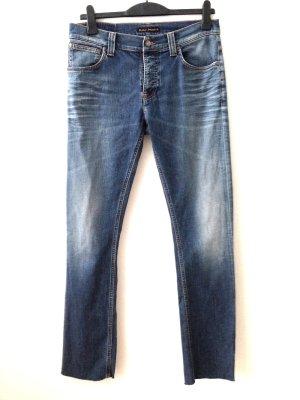 Schmale Jeans von Nudie Jeans, W33/L34, passt Gr. 42/44