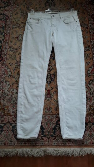 Drykorn Stretch Jeans white cotton