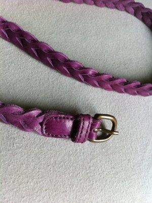 schmaler Damengürtel in lila
