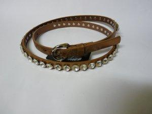 Schmaler gürtel In goldton schmuck für Stiefel Tasche oder sonstiges